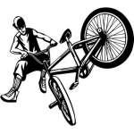 Extreme Freestyle BMX Sticker 2113