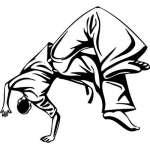 Extreme Karate Sticker 2116