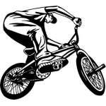 Extreme BMX Sticker 2140