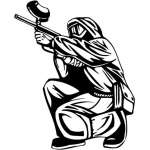 Extreme Paintball Sticker 2152