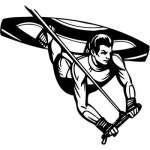 Extreme Wakeboarding Sticker 2170