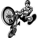 Extreme BMX Sticker 2186