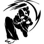 Karate Sticker 4