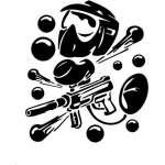 Paintball Sticker 7