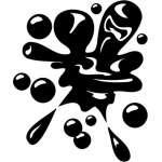 Paintball Splat Sticker 4