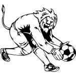 Soccer Sticker 1
