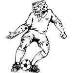 Soccer Sticker 4
