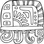 Mayan Sticker 2