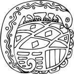 Mayan Sticker 6