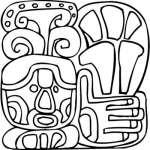 Mayan Sticker 7
