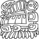 Mayan Sticker 8