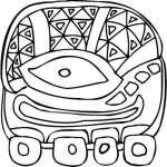 Mayan Sticker 9