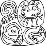 Mayan Sticker 10