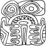 Mayan Sticker 12