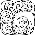 Mayan Sticker 13