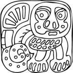 Mayan Sticker 14
