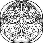 Mayan Sticker 17