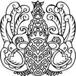 Mayan Sticker 25
