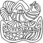 Mayan Sticker 31