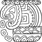 Mayan Sticker 35