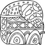 Mayan Sticker 36