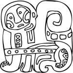 Mayan Sticker 41