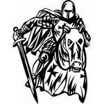 Crusader  Sticker 15
