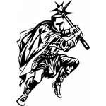 Crusader  Sticker 47