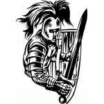 Crusader  Sticker 59