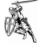 Crusader  Sticker 65
