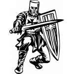Crusader  Sticker 91