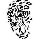 Tribal Predator Sticker 80