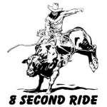 Bull Riding 9 Sticker