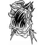 Water  Monster  Sticker 5