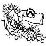 Frog Sticker 28