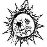 Sun Sticker 141