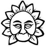 Sun Sticker 295