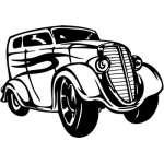 Hotrod Sticker 7