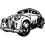 Hotrod Sticker 12