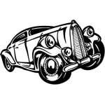 Hotrod Sticker 14