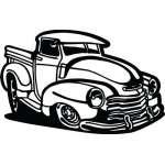 Classic Truck Sticker 7