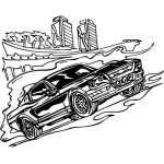 Muscle Car Sticker 9