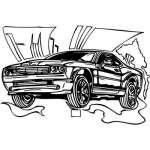 Muscle Car Sticker 12