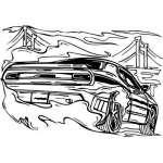 Muscle Car Sticker 13