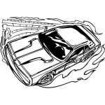 Muscle Car Sticker 15