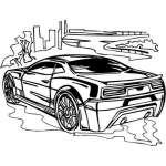 Muscle Car Sticker 21