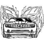 Muscle Car Sticker 27