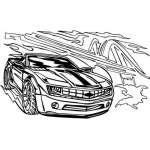 Muscle Car Sticker 28