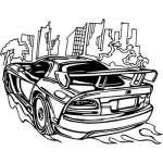 Muscle Car Sticker 30