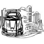 Muscle Car Sticker 35